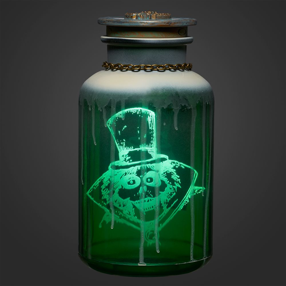 The Hatbox Ghost Host A Ghost Spirit Jar – The Haunted Mansion