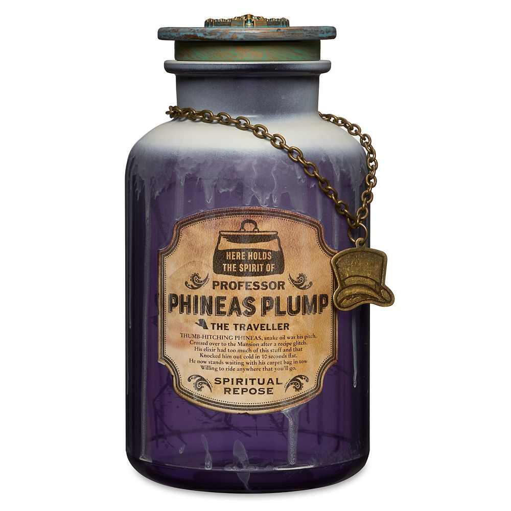 Professor Phineas Plump Host A Ghost Spirit Jar – The Haunted Mansion