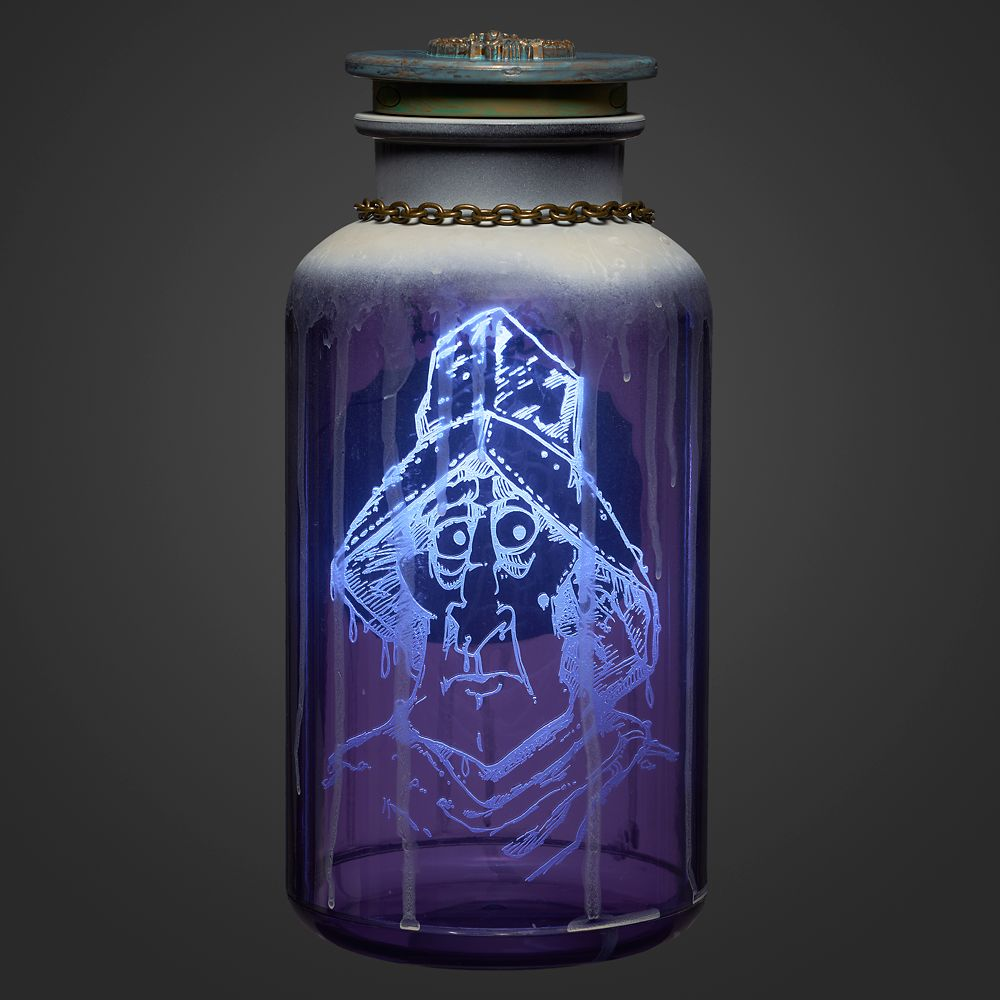 Captain Culpepper Clyne Host A Ghost Spirit Jar – The Haunted Mansion
