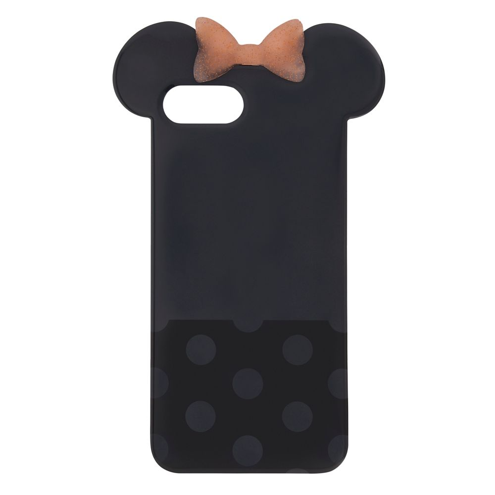 Minnie Mouse Briar Rose Gold Bow iPhone 8 Plus Case