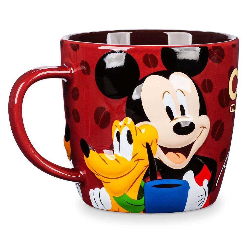 Mickey Mouse and Pluto Mug
