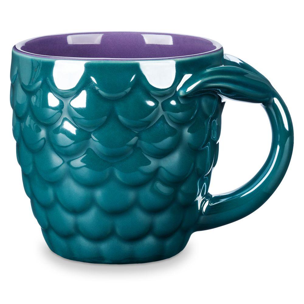 The Little Mermaid Fin Mug Official shopDisney