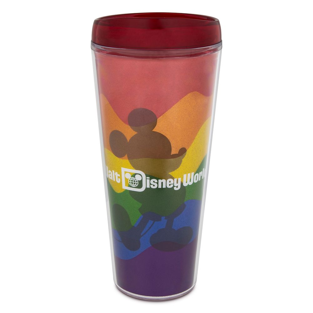 Rainbow Disney Collection Mickey Mouse Travel Tumbler – Walt Disney World