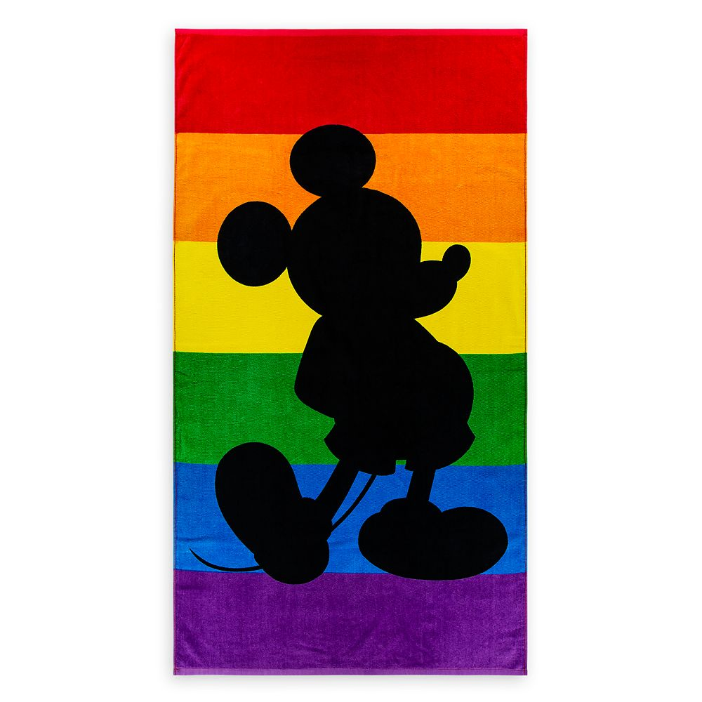 Rainbow Disney Collection Mickey Mouse Beach Towel