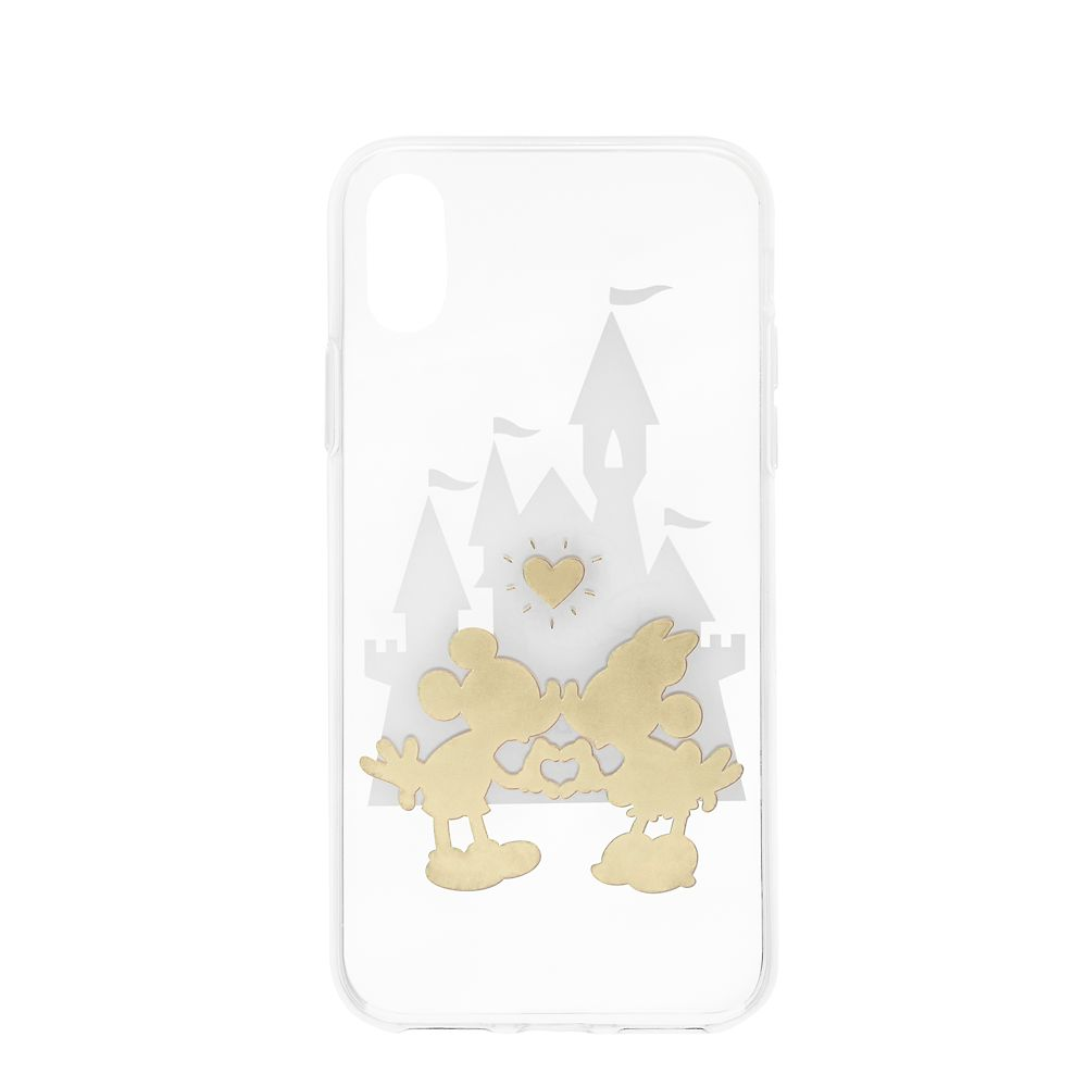 Mickey and Minnie Mouse iPhone XS Case