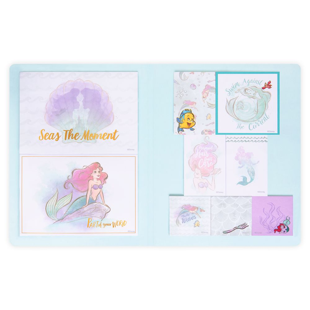 The Little Mermaid Sticky Note Set