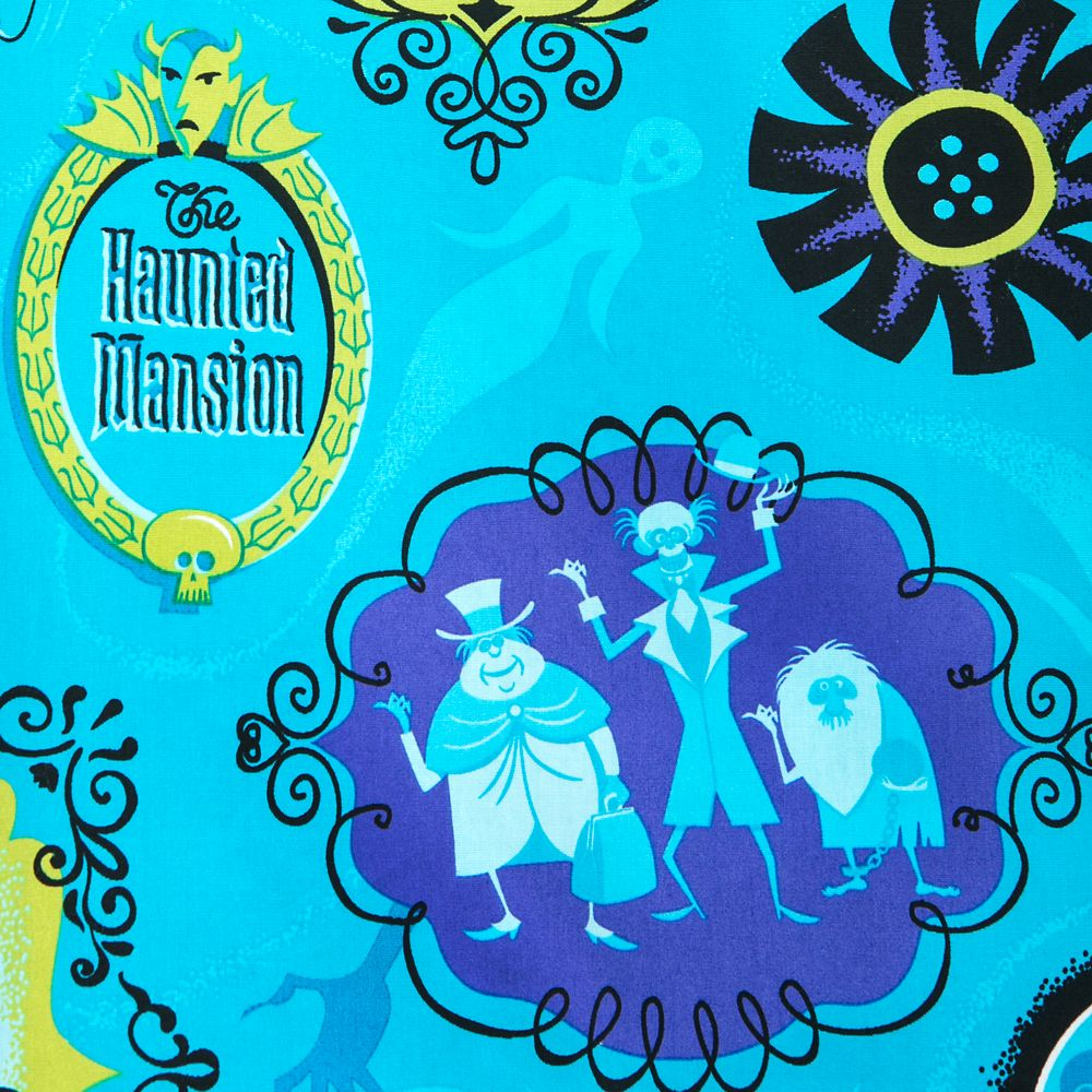 The Haunted Mansion Woven Shirt for Adults by SHAG