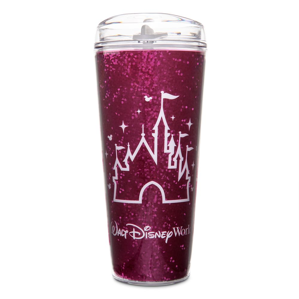 Fantasyland Castle Travel Tumbler – Walt Disney World – Imagination Pink