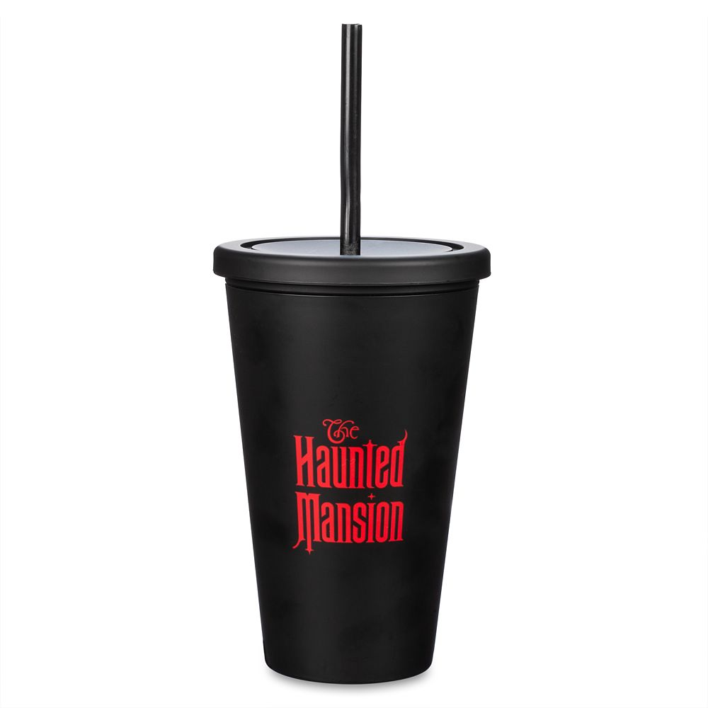 Hitchhiking Ghosts Tumbler with Straw – The Haunted Mansion