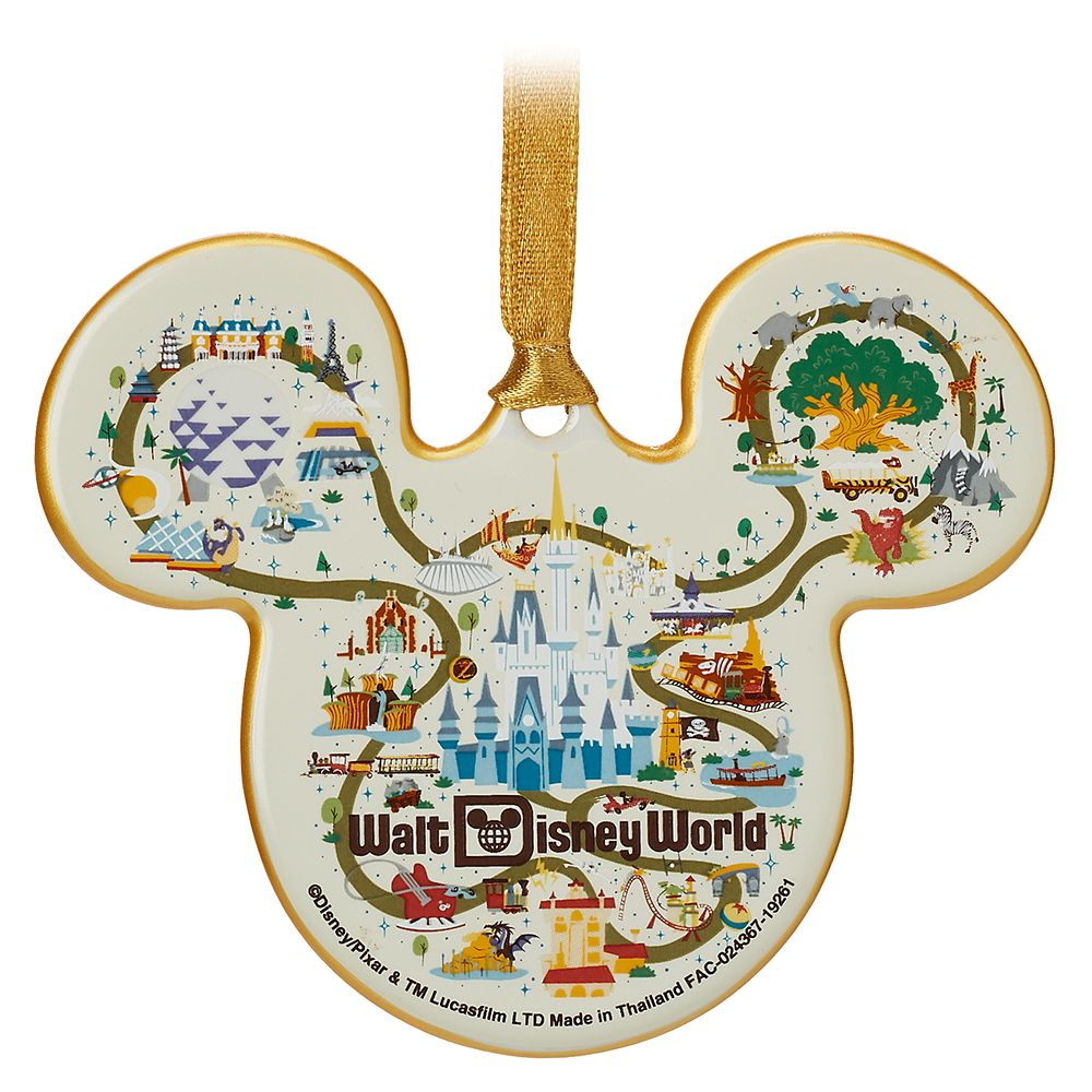 Mickey Mouse Icon Ornament – Walt Disney World