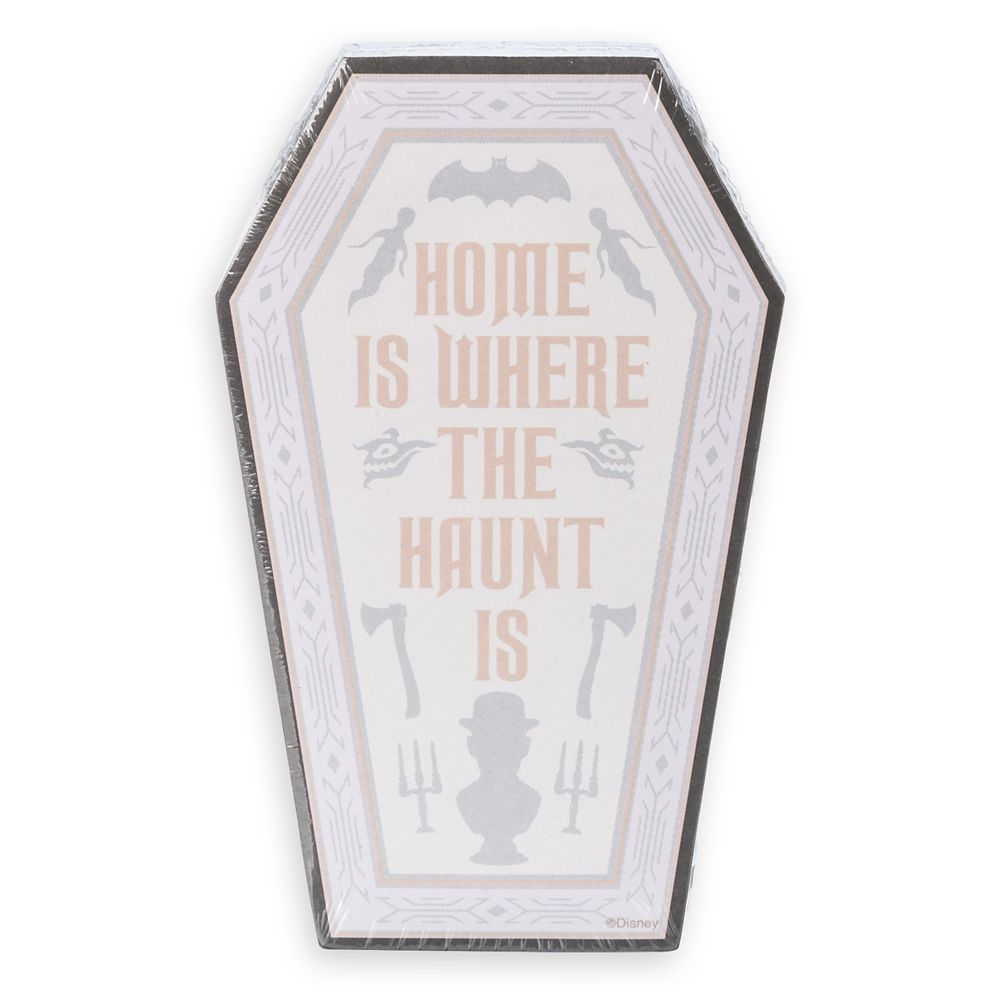The Haunted Mansion Magnetic Notepad