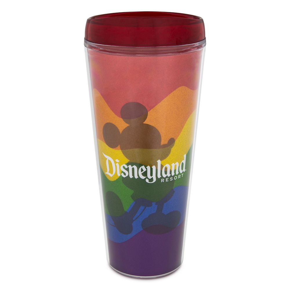 Rainbow Disney Collection Mickey Mouse Travel Tumbler – Disneyland