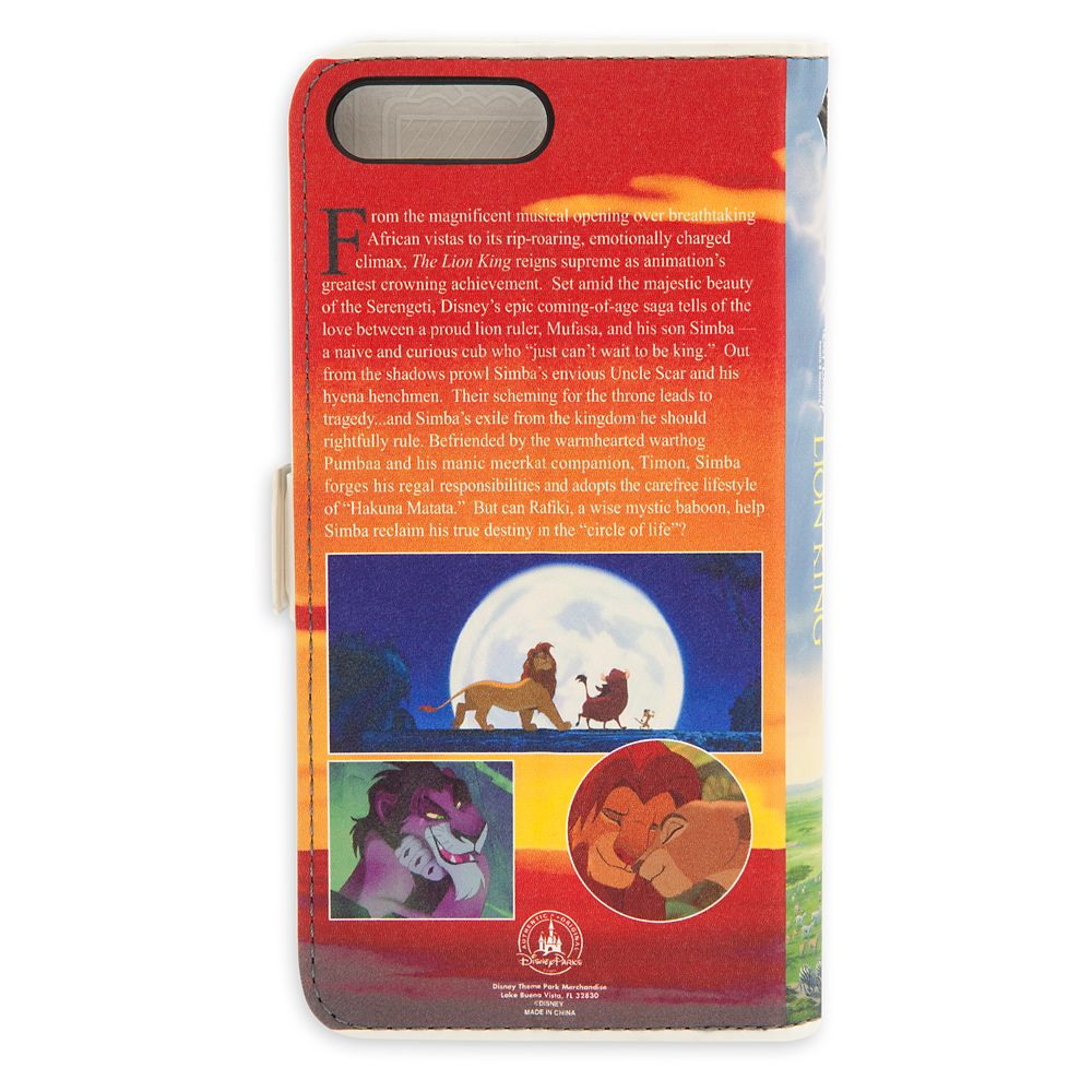 The Lion King VHS Cover iPhone 6s/7/8 Case