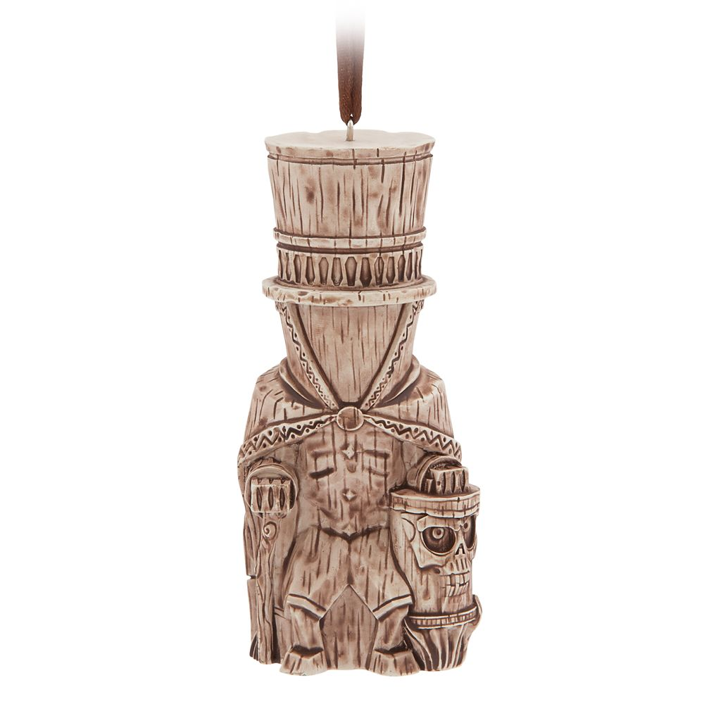 Hatbox Ghost Trader Sam's Enchanted Tiki Bar Ornament – Disneyland