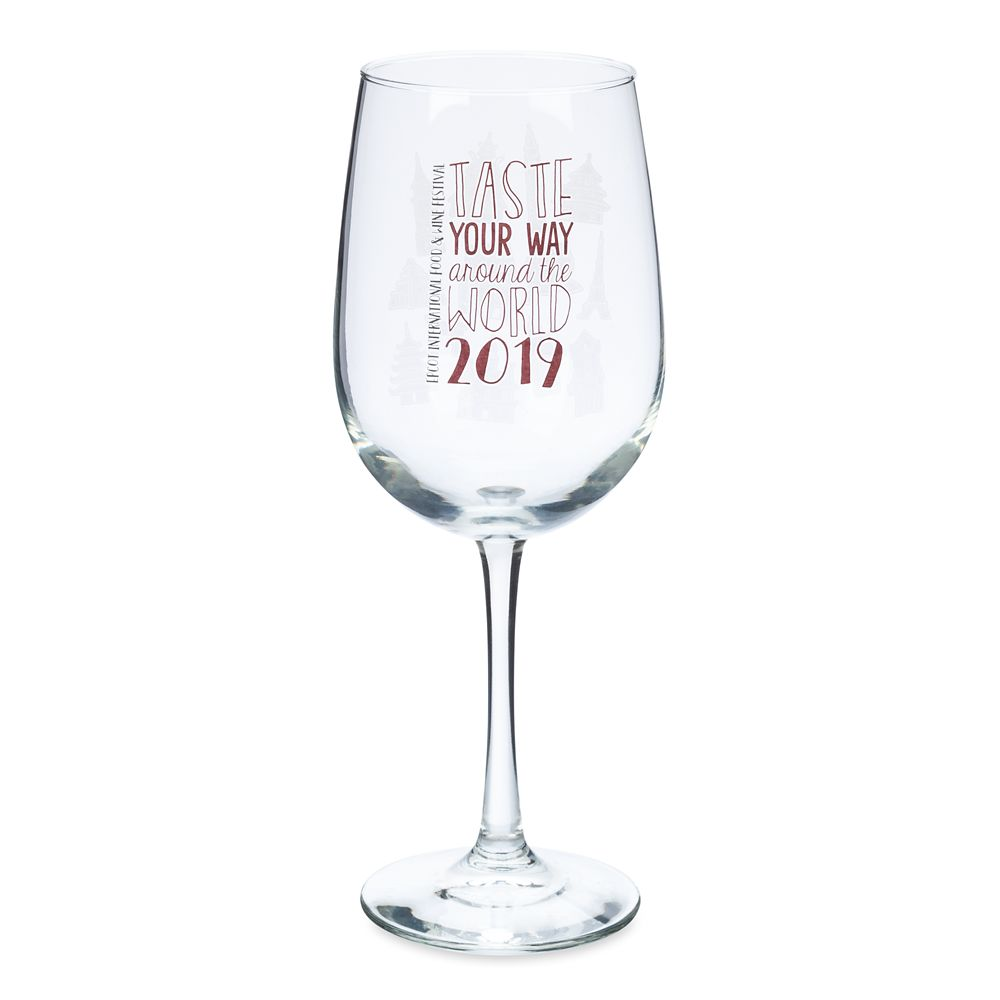 Epcot International Food & Wine Festival 2019 Wine Glass Official shopDisney