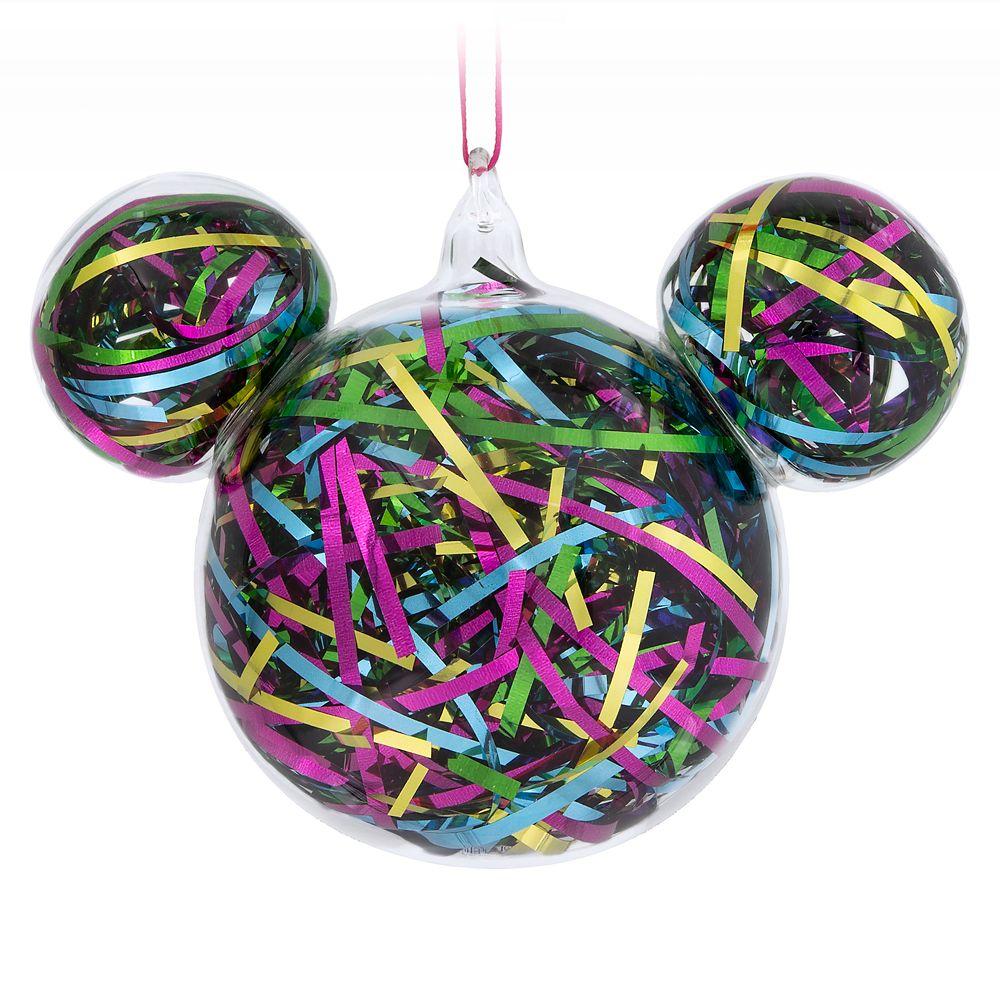 Mickey Mouse Icon Ribbon Ornament