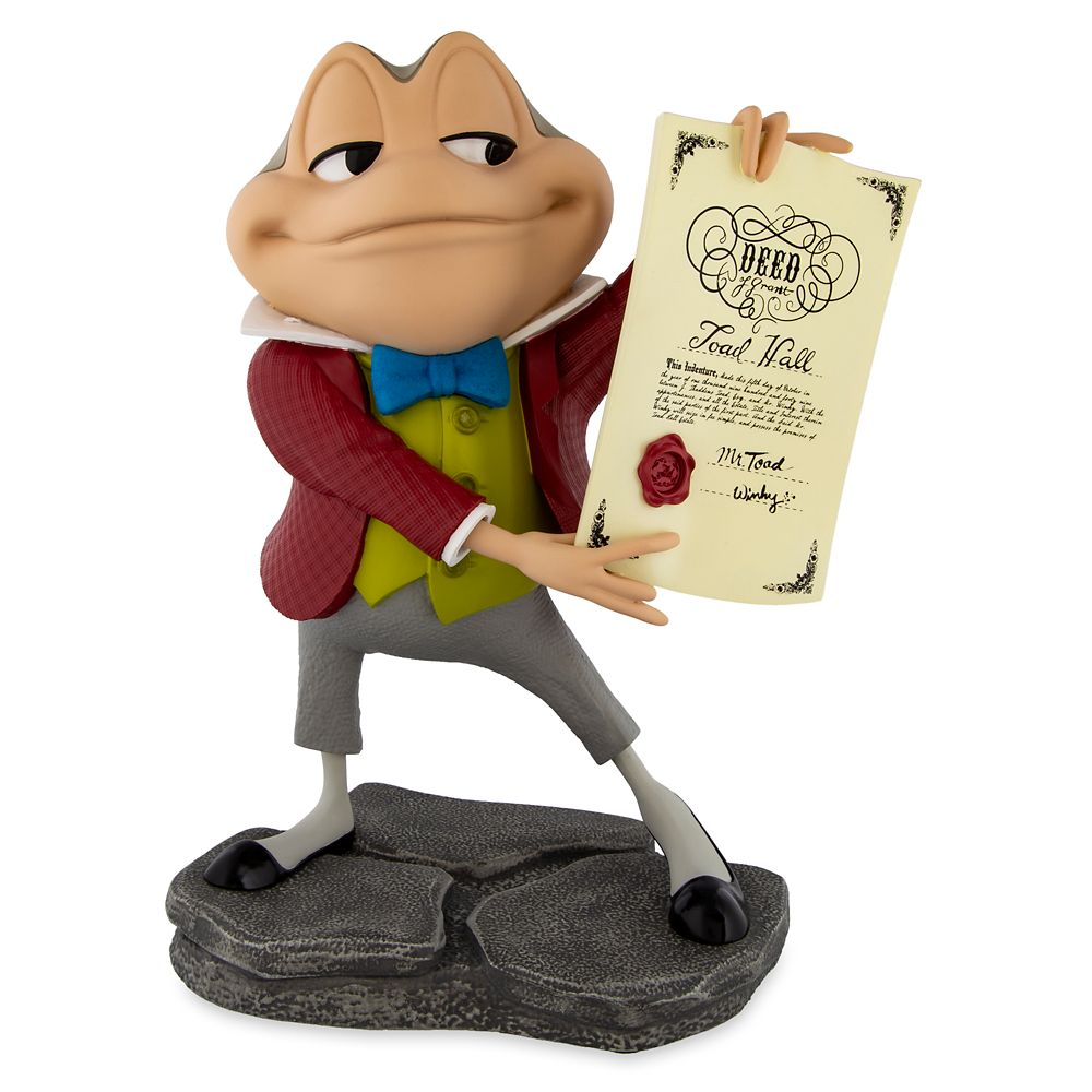 J. Thaddeus Toad Figure – The Adventures of Ichabod and Mr. Toad