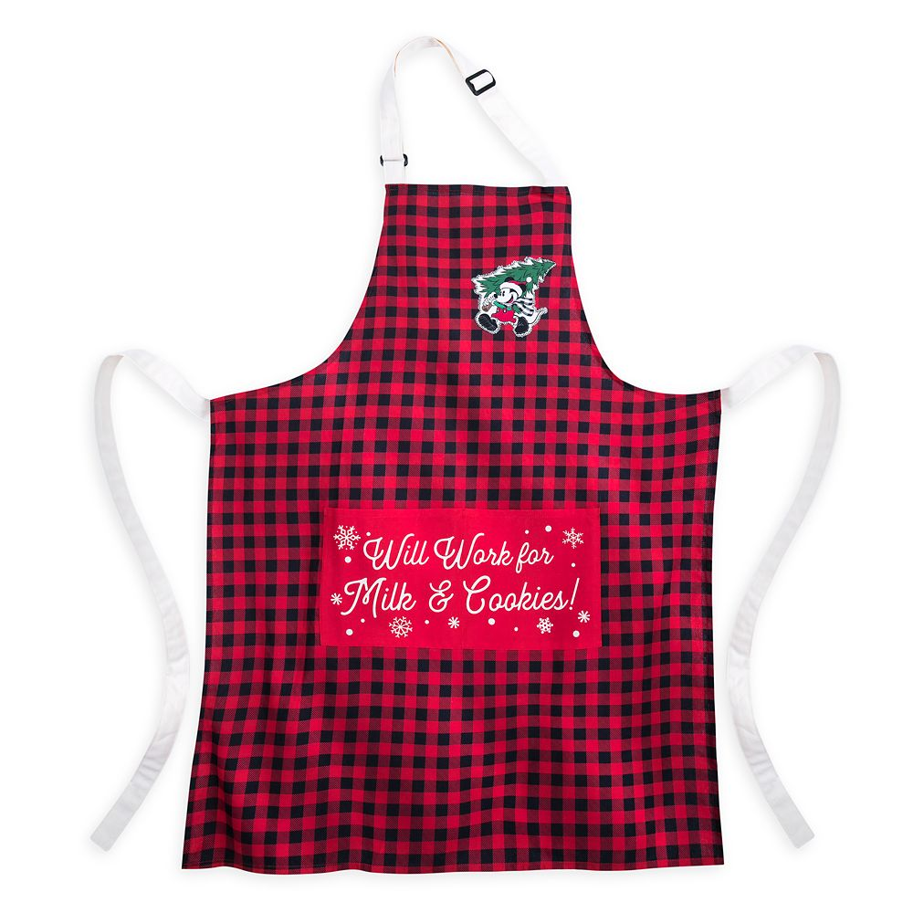 Mickey Mouse Holiday Apron