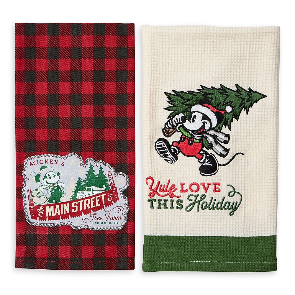 Mickey Mouse Holiday Kitchen Towel Set