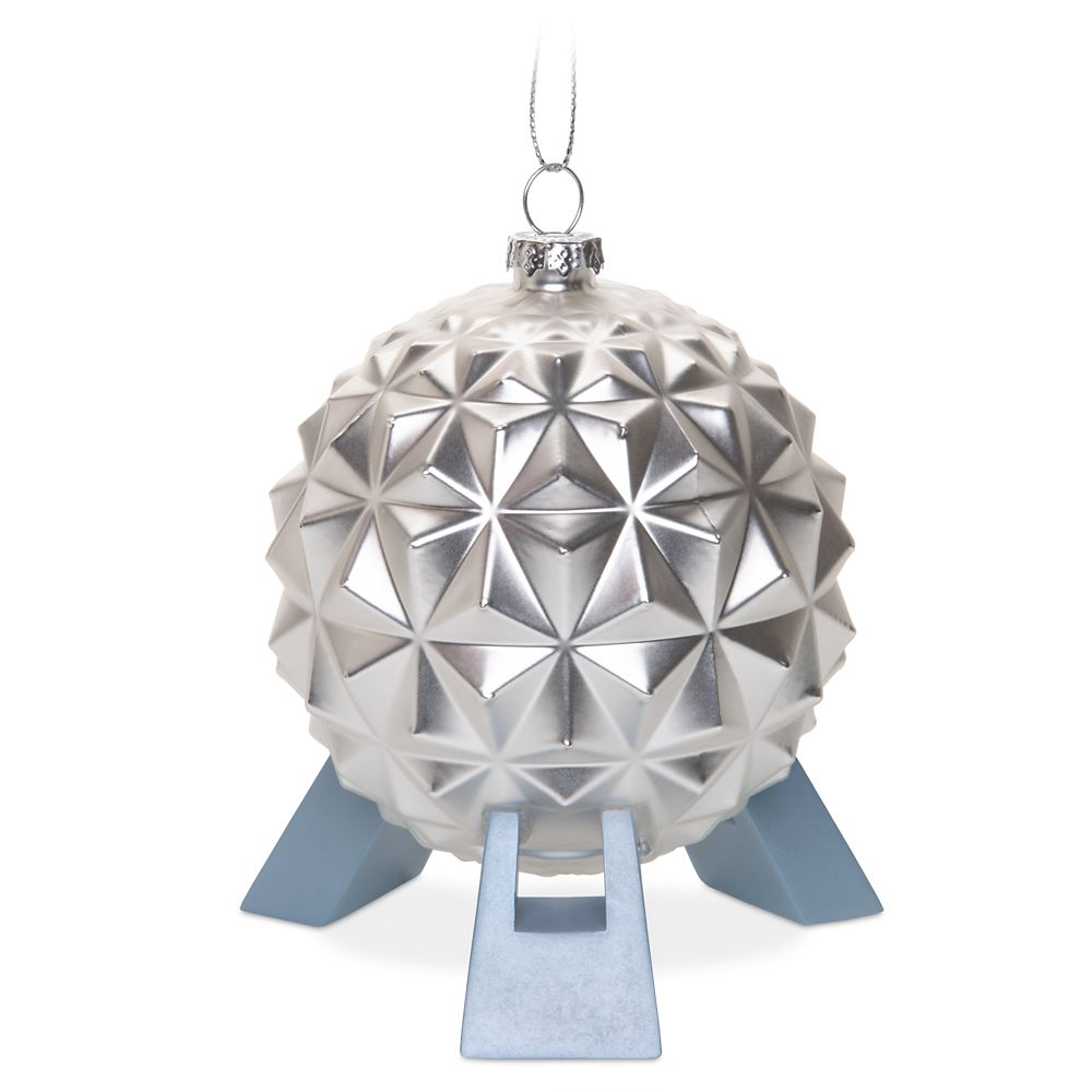 Spaceship Earth Glass Ornament – Epcot