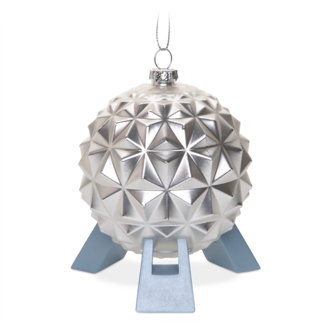 Spaceship Earth Glass Ornament – Epcot