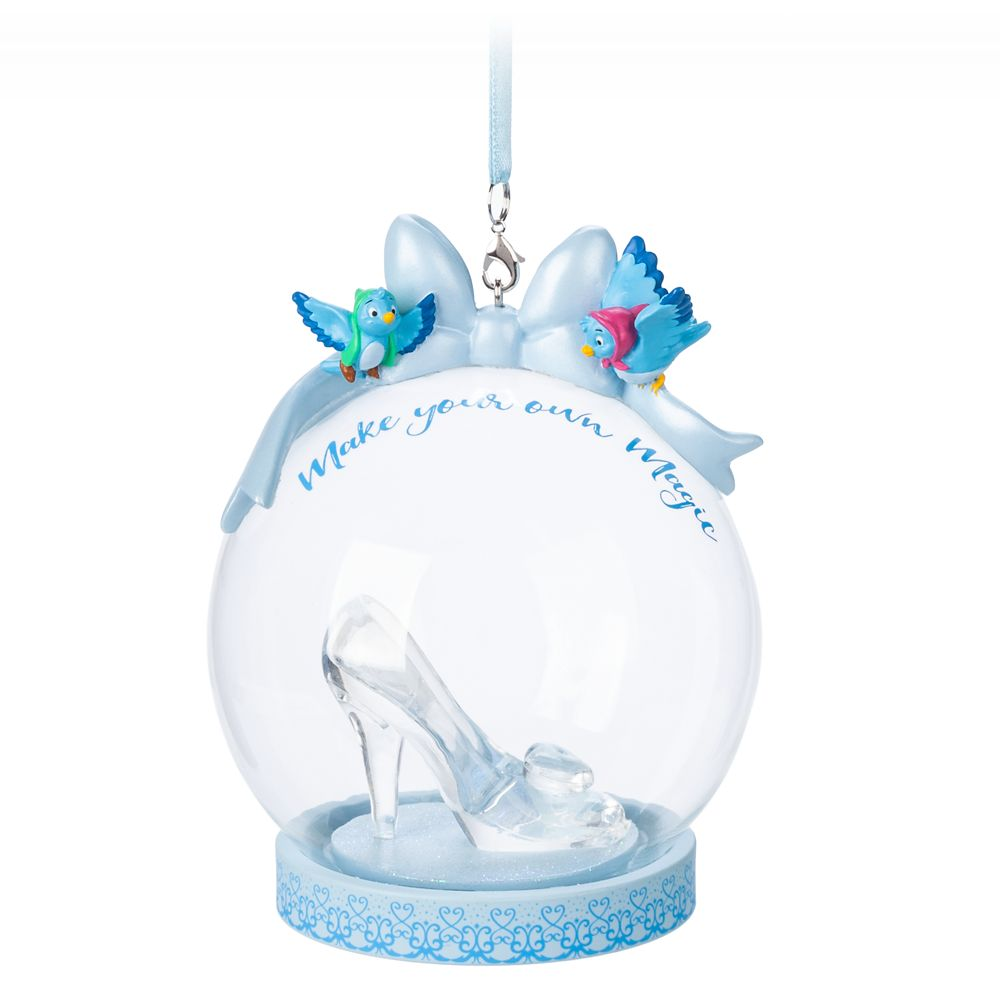 Cinderella Glass Slipper Globe Ornament
