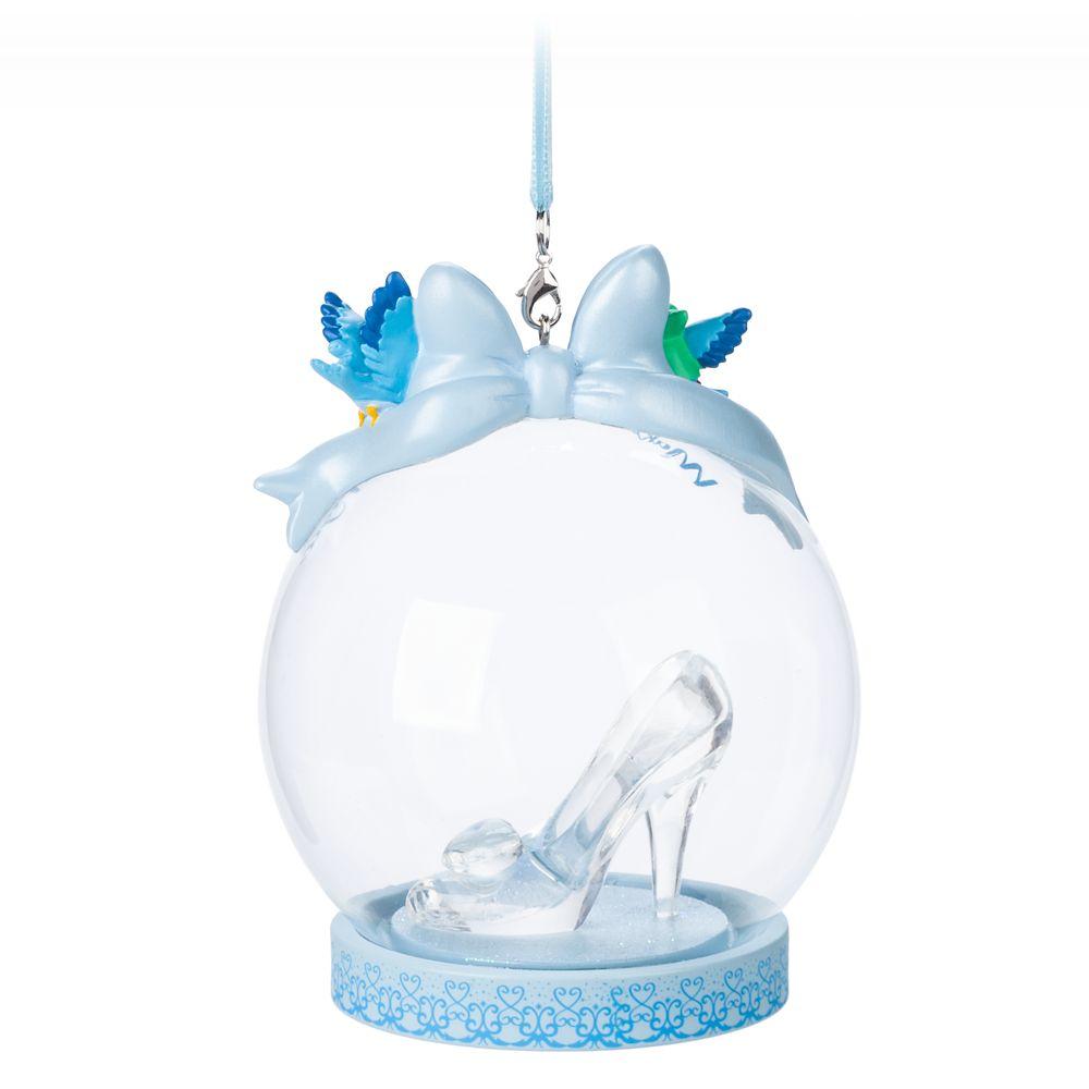 Cinderella Glass Slipper Globe Ornament