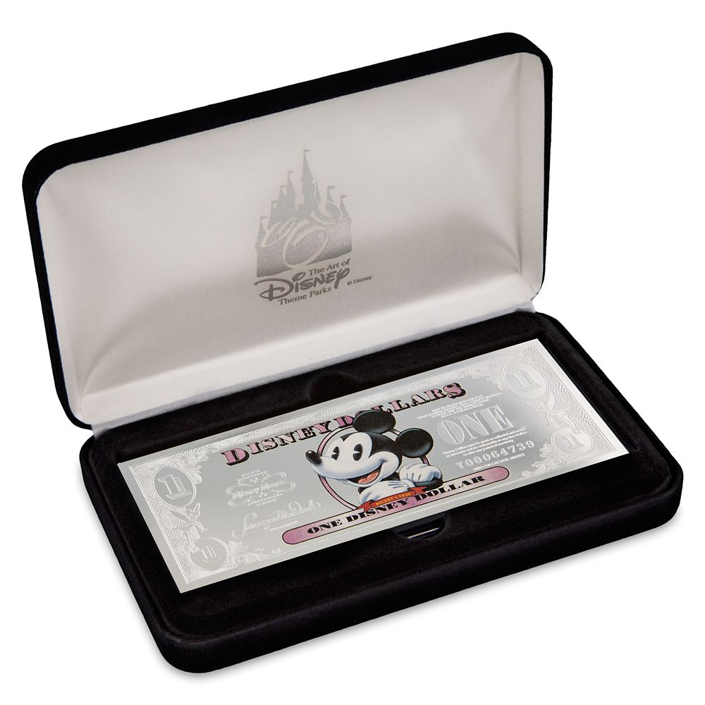 Mickey Mouse Silver Disney Dollar – Limited Edition