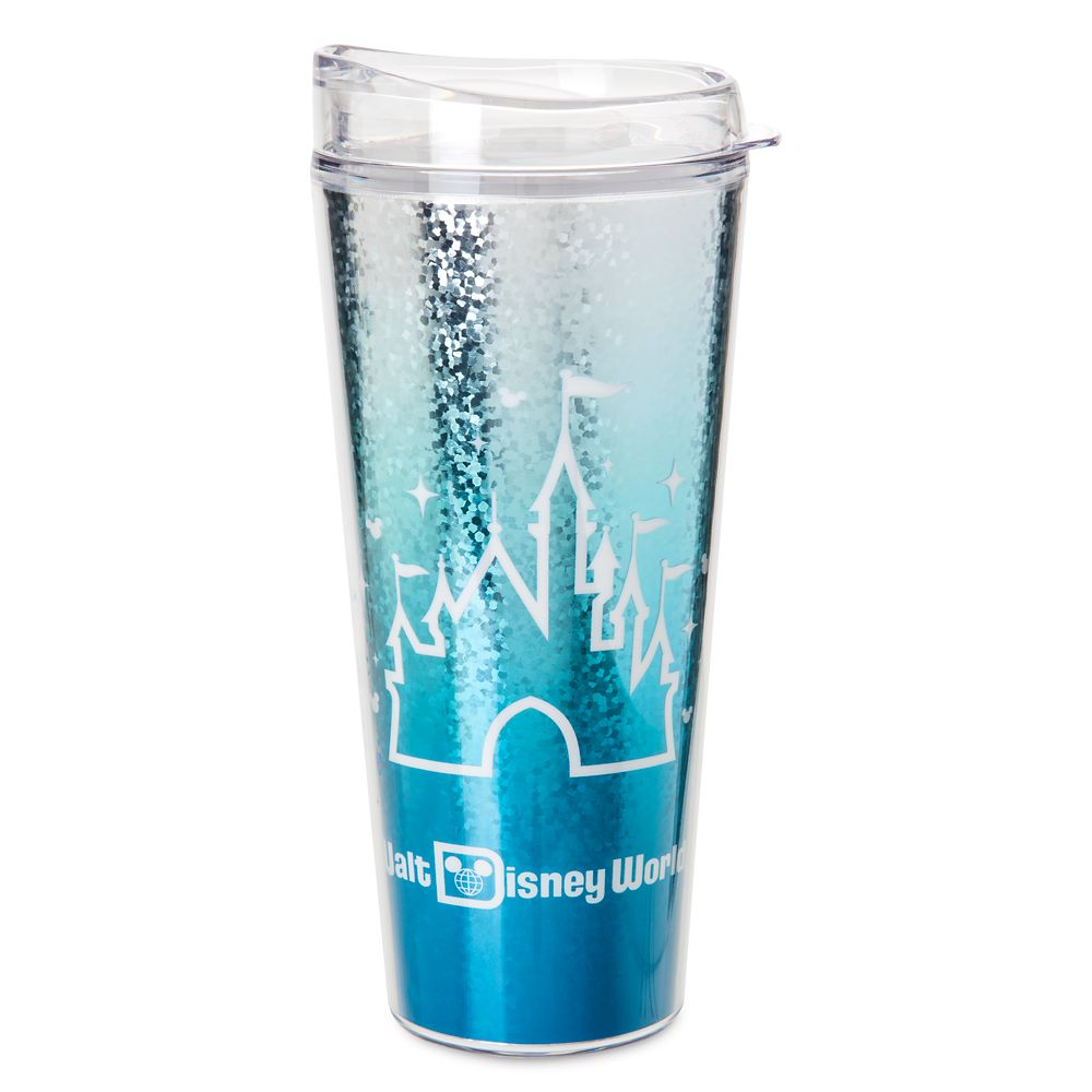 Fantasyland Castle Travel Tumbler – Walt Disney World – Arendelle Aqua