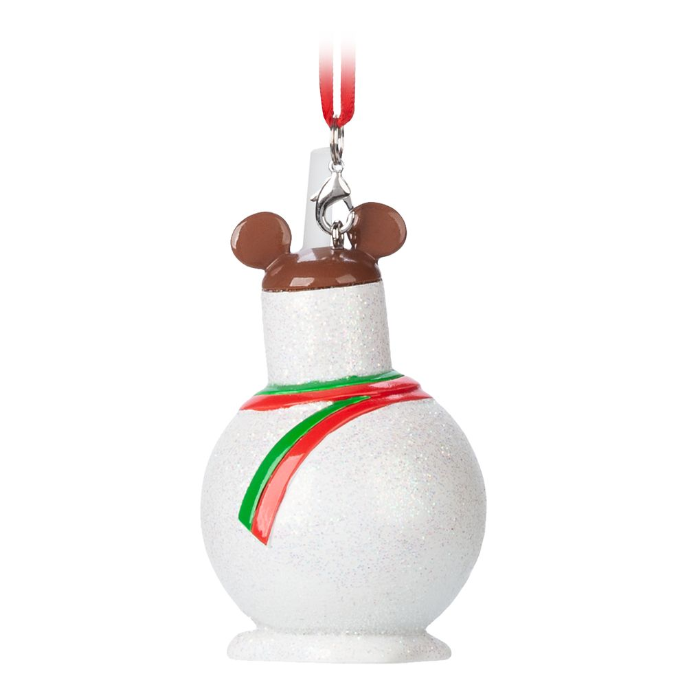 Mickey Mouse Snowman Treat Ornament