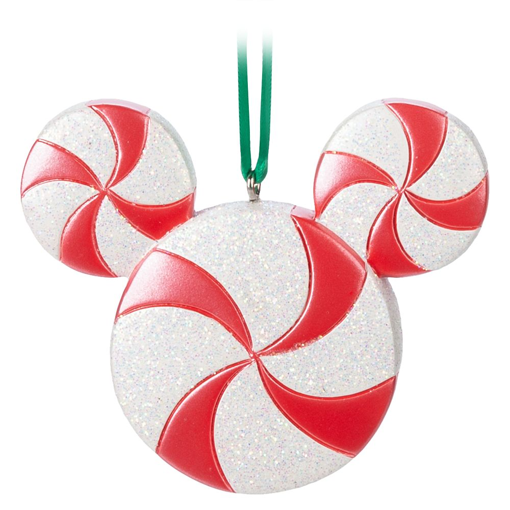 Mickey Mouse Peppermint Ornament