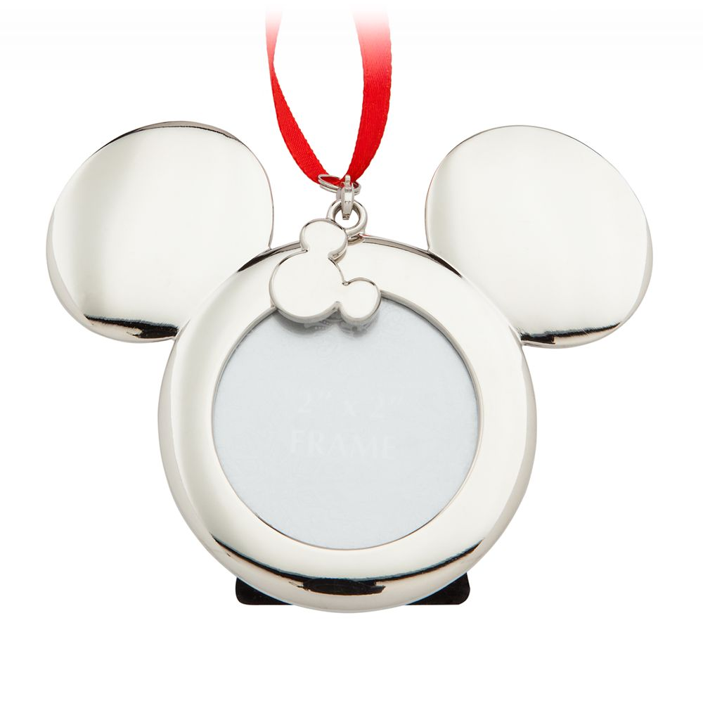 Mickey Mouse Icon Metal Frame Ornament
