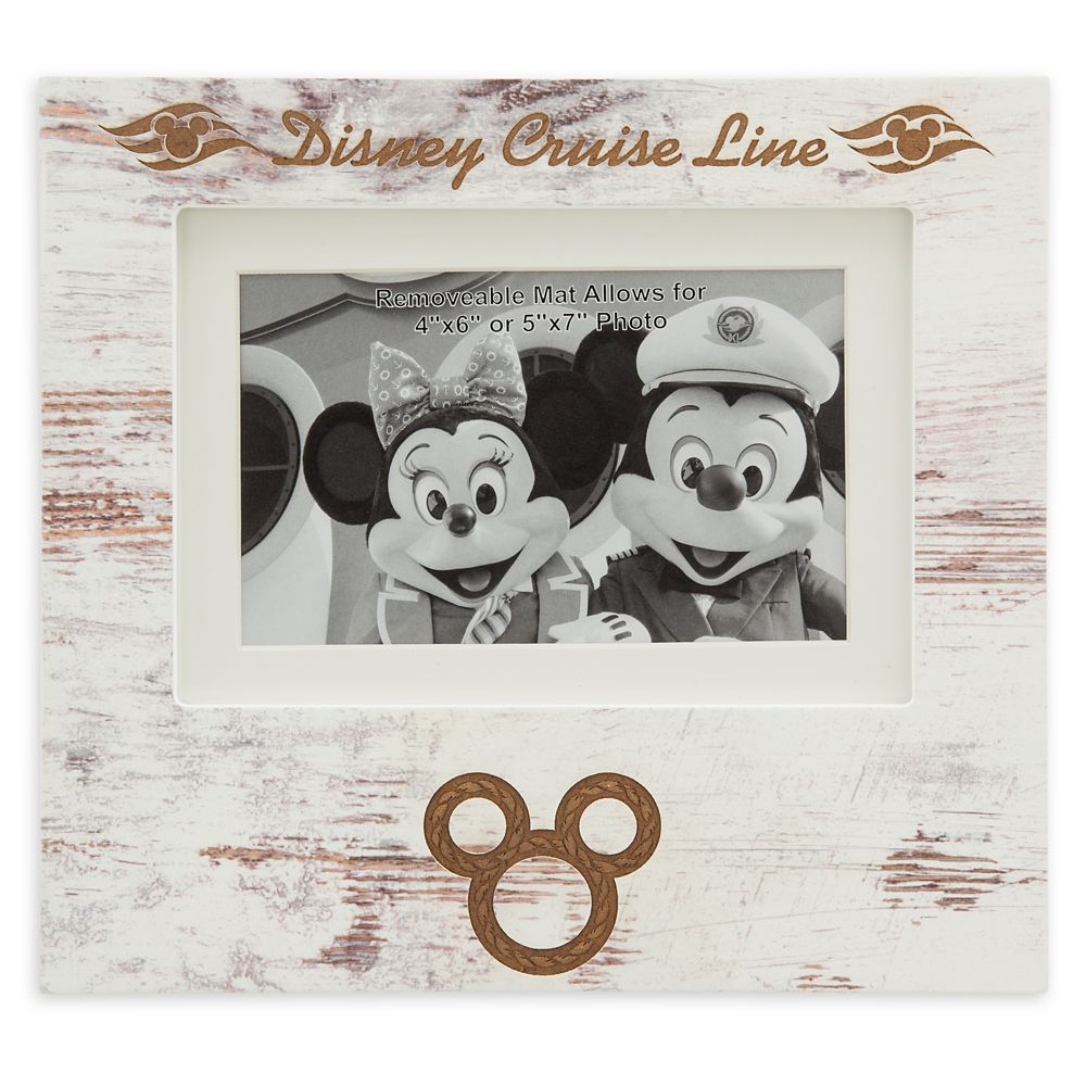 Mickey Mouse Icon Photo Frame – Disney Cruise Line – 4'' x 6'' / 5'' x 7''