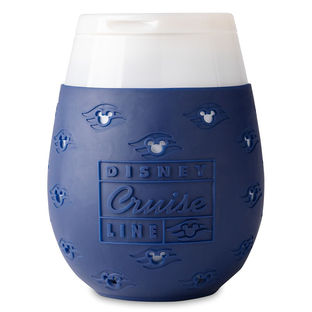 Disney Cruise Line Stemless Glass and Silicone Sleeve