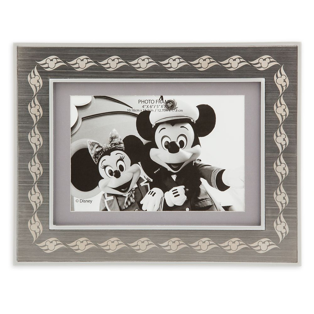 Disney Cruise Line Metal Photo Frame  4'' x 6'' / 5'' x 7''