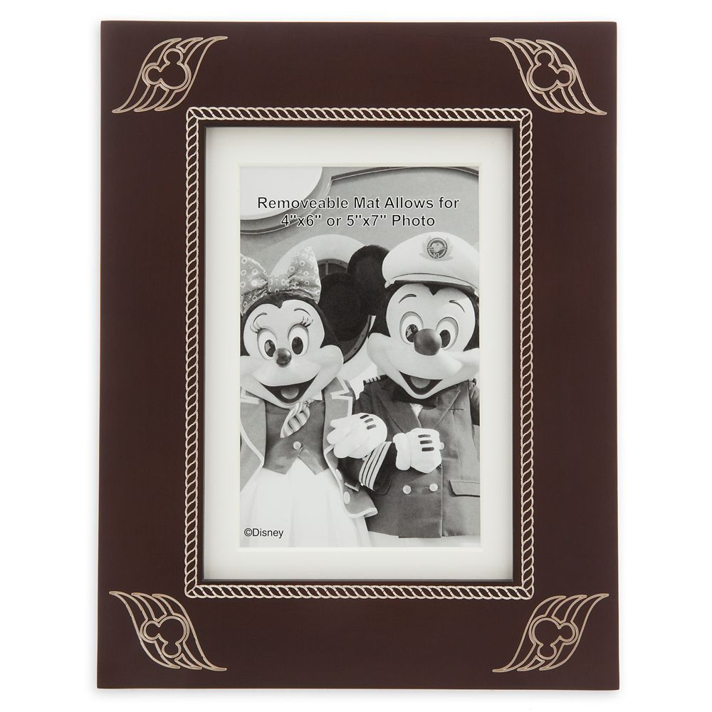 Disney Cruise Line Resin Photo Frame  4'' x 6'' / 5'' x 7''