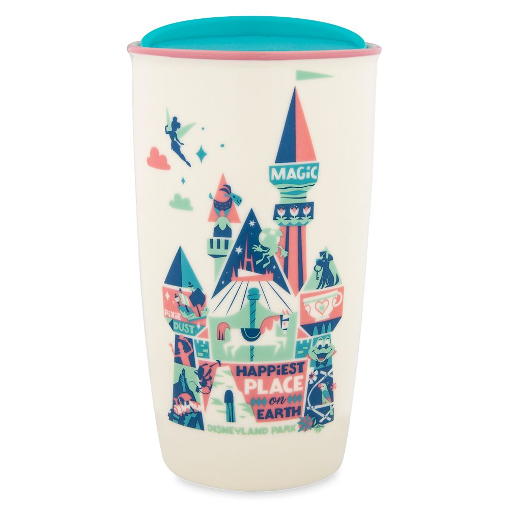 Disneyland Park Starbucks Ceramic Travel Tumbler