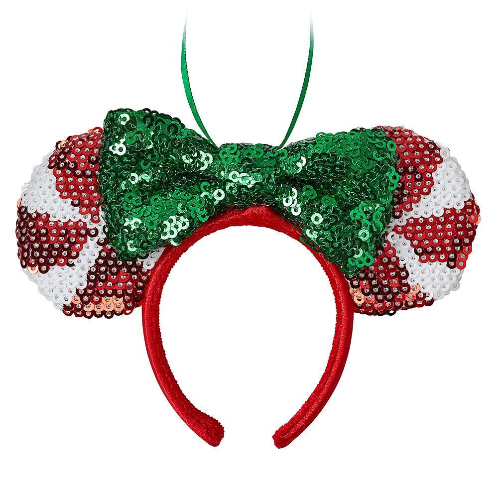 Minnie Mouse Ear Headband Ornament