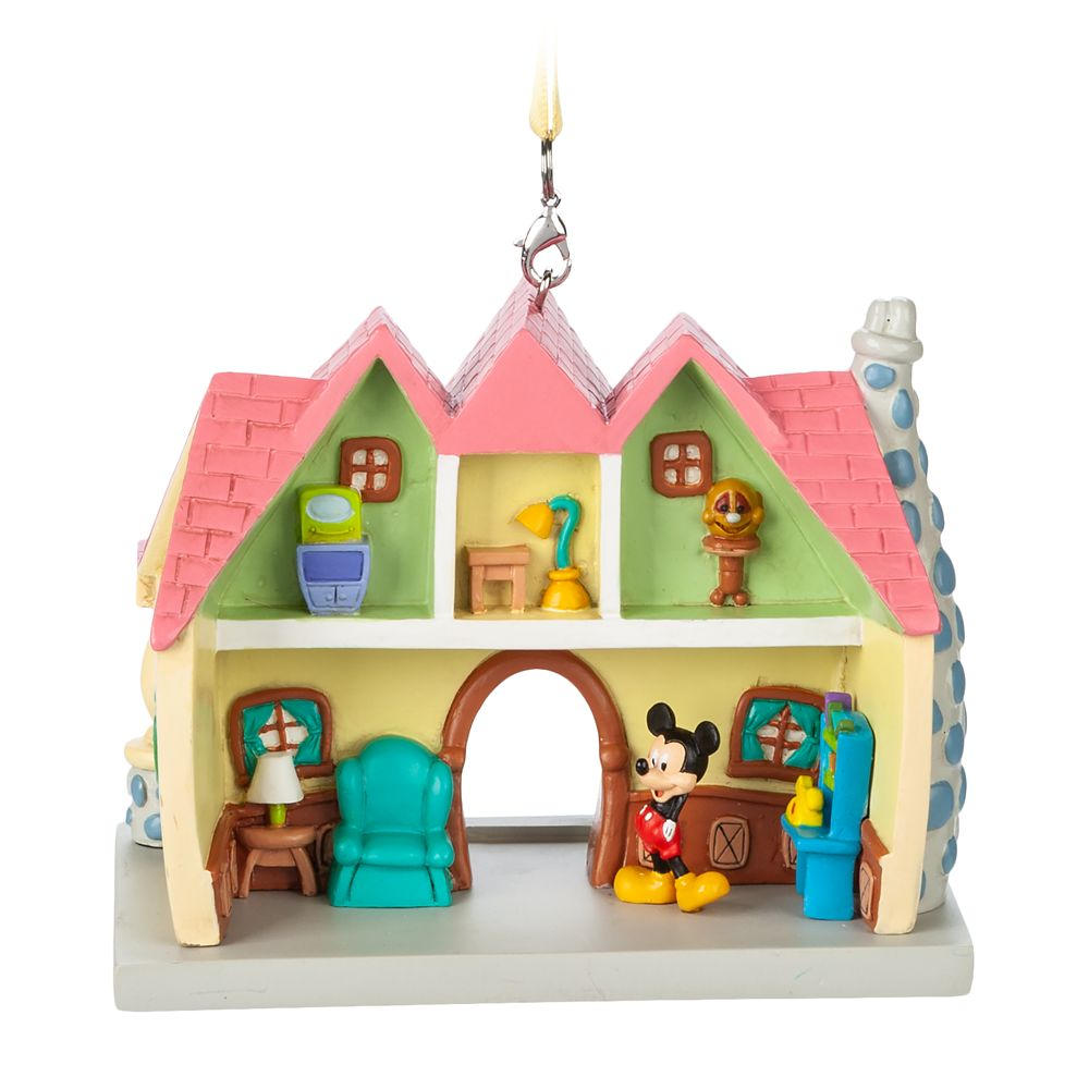 Mickey Mouse House Ornament – Mickey's Toon Town – Disneyland