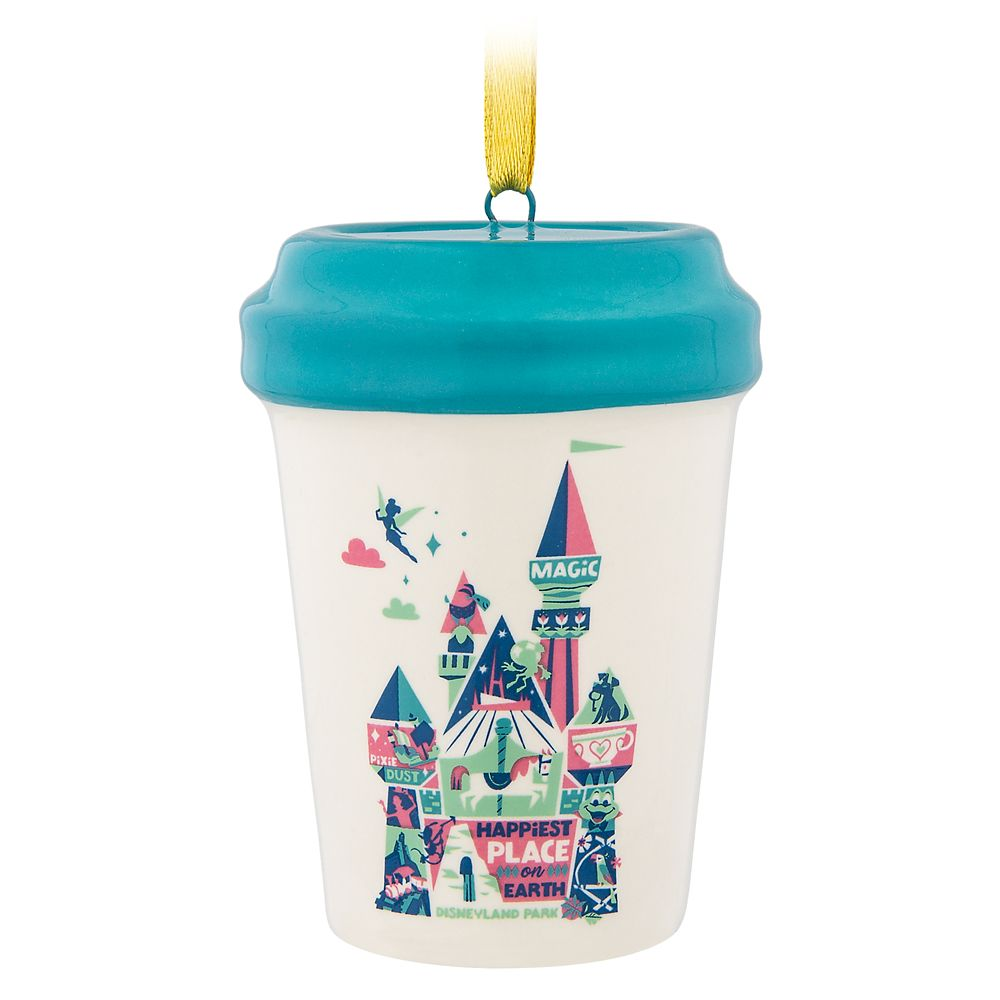 Disneyland Starbucks Cup Ornament