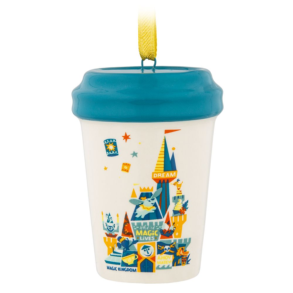 Magic Kingdom Starbucks Mug Ornament