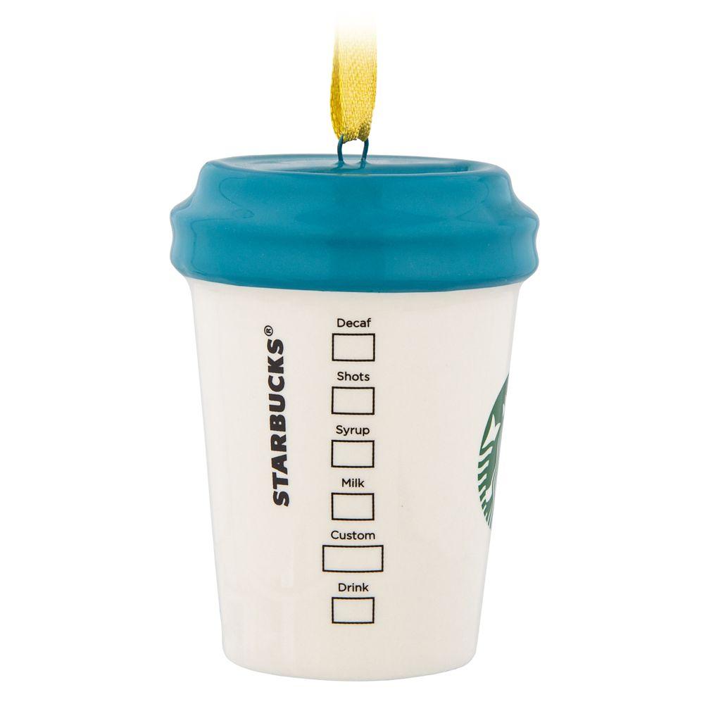 Magic Kingdom Starbucks Mug Ornament