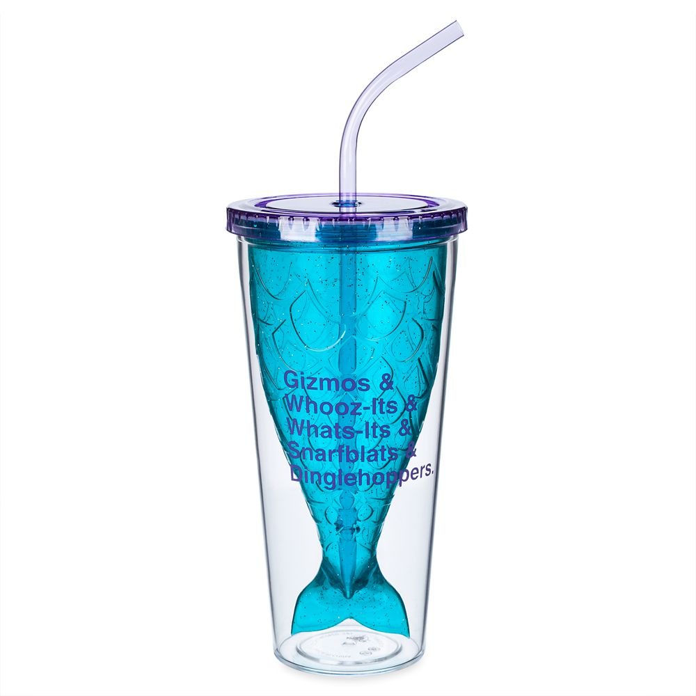 The Little Mermaid Tumbler with Straw