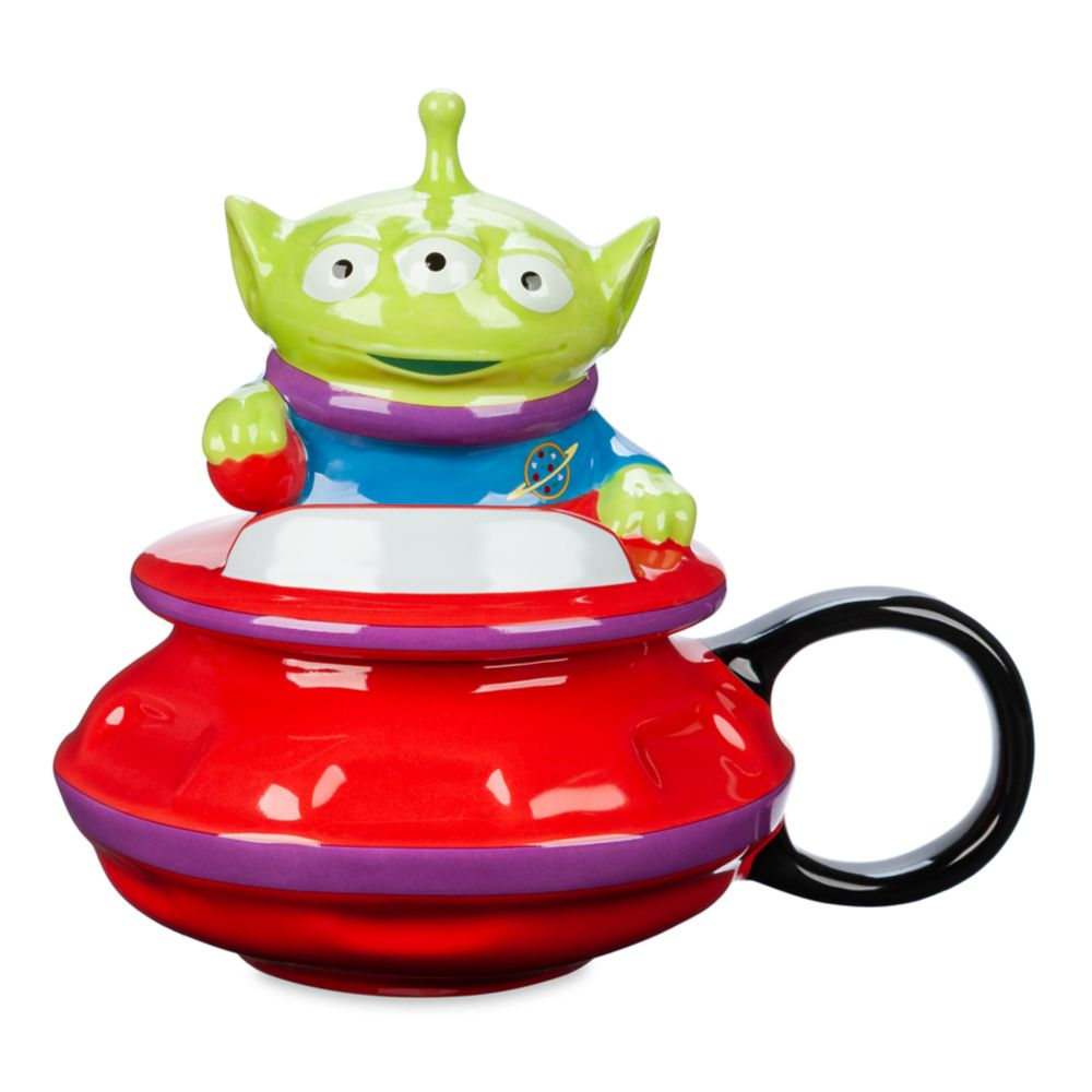 Toy Story Alien UFO Figural Mug with Lid