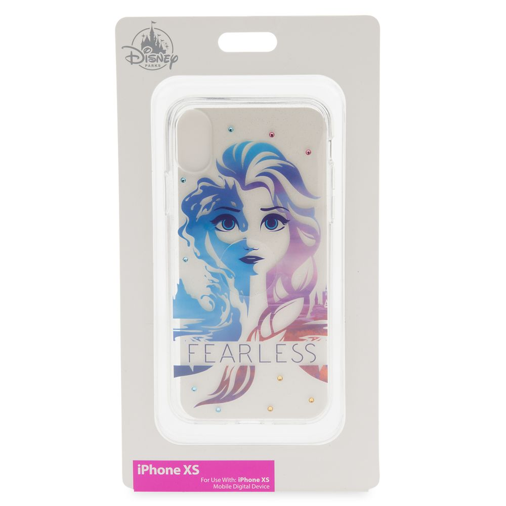 Elsa ''Fearless''  iPhone XS Case – Frozen 2