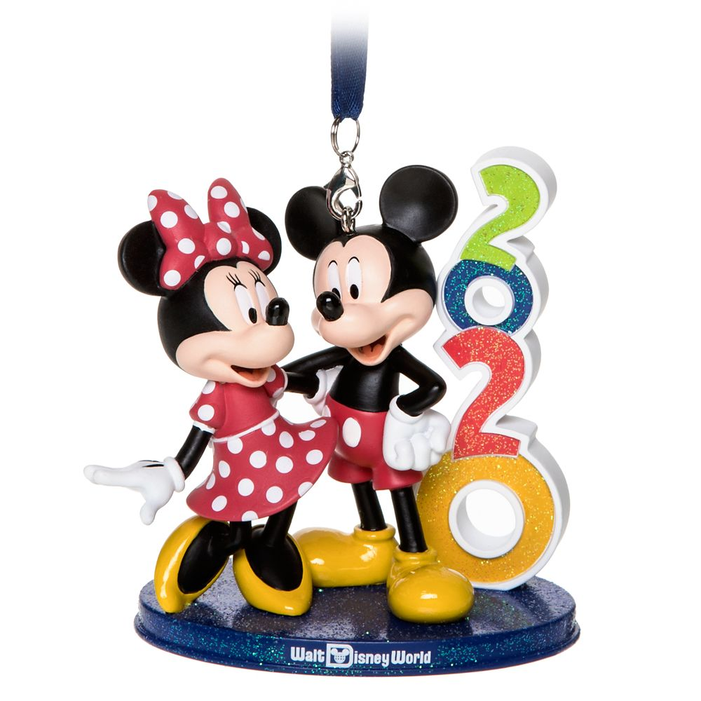 Mickey and Minnie Mouse Figural Ornament – Walt Disney World 2020
