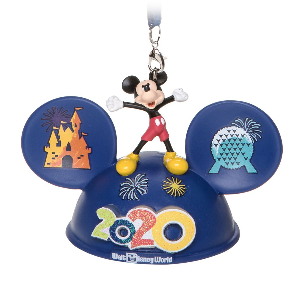 Mickey Mouse and Friends Light-Up Ear Hat Ornament – Walt Disney World 2020