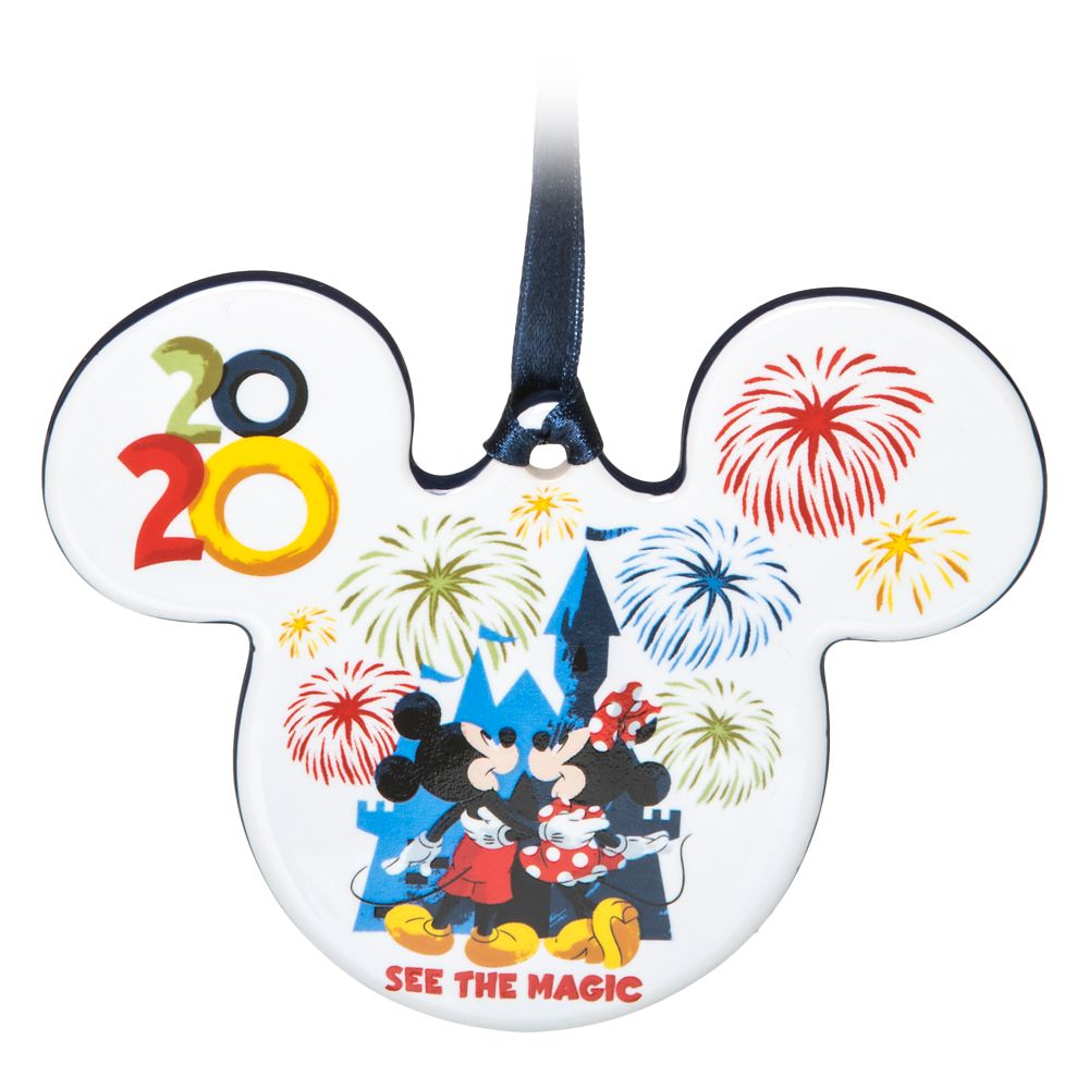 Mickey Mouse and Friends Ceramic Ornament – Walt Disney World 2020