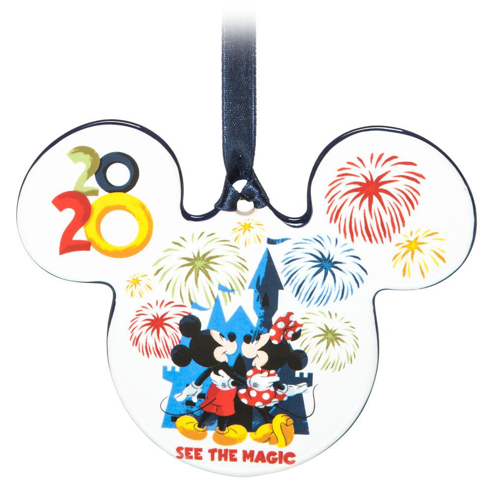 Mickey Mouse and Friends Ceramic Ornament – Disneyland 2020