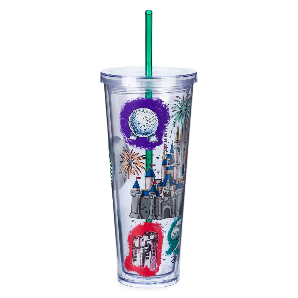 Walt Disney World Resort Starbucks Tumbler with Straw